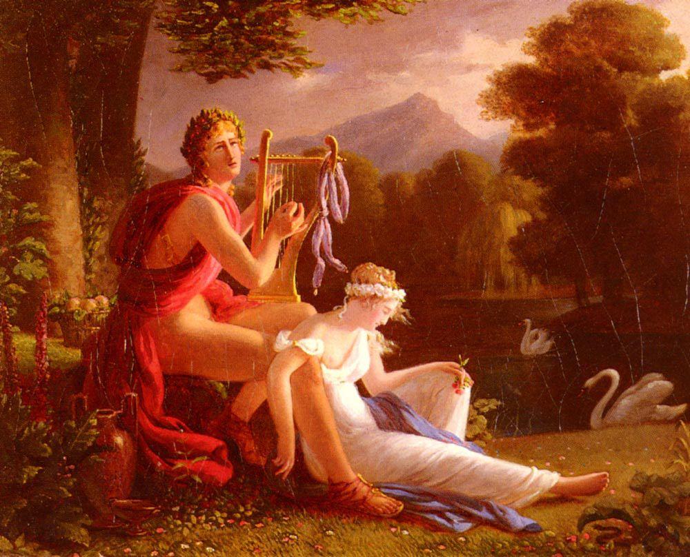 La légende d'Orphée et d'Eurydice